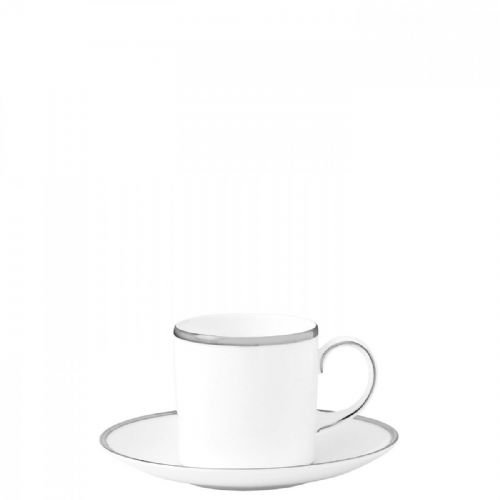 Sterling Coffee Cup Saucer